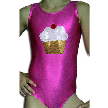 Gymnastics Leotards Girls Cupcake Mystique Leotard Gymnast Leo szs Toddler - Adult cxs cs cm cl axs as am al