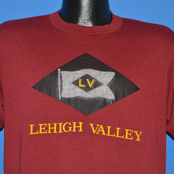 80s Lehigh Valley Railroad Black Diamond t-shirt Large