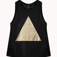 Metallic Triangle Jersey