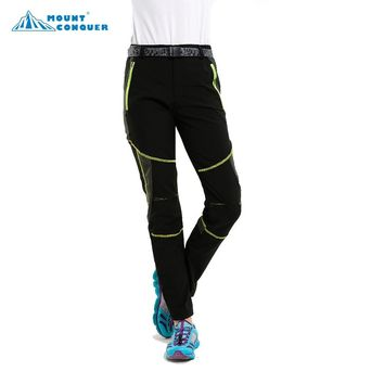 Women Female Outdoor Sports Thin Breathable Anti-UV Pants Hiking Trekking Camping Trousers Spring Summer Quick Dry Pants
