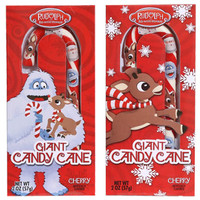 Rudolph the Red Nosed Reindeer Giant Candy Canes, 2 oz. at Deals
