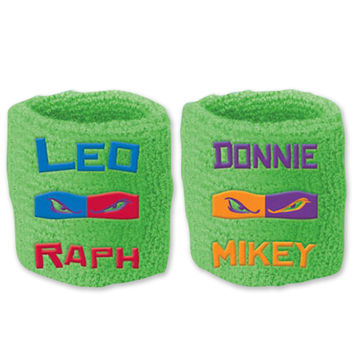 Teenage Mutant Ninja Turtles Sweat Bands