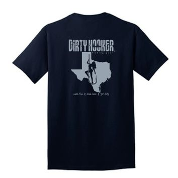 DH Classic Texas T-shirts - Dirty Hooker Fishing Gear