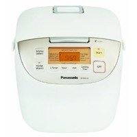 Panasonic SR-MS103 5-Cup (Uncooked) Rice Cooker, White