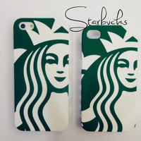Very detail Starbucks iPhone 4 and iPhone 5 protective by Kappuruu
