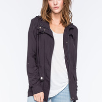 ASHLEY Button Flap Womens Anorak Jacket | Pretty Peasant