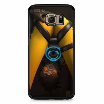 Overwatch Tracer Sexy Samsung Galaxy S6 Edge Plus Case
