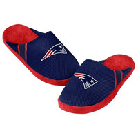 New England Patriots Official NFL Jersey Slippers