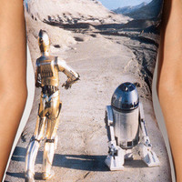Tatooine Swimsuit | Black Milk Clothing