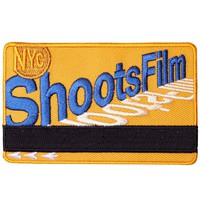 NYC Shoots Film Metro Card Patch