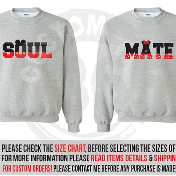 Soul Mate Lightweight Crewneck Sweater Set of 2