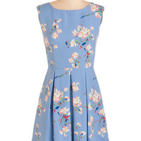 ModCloth Pastel Mid-length Sleeveless A-line Put Your Mind at Breeze Dress