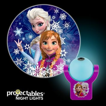 Jasco 13340 Projectables® LED Plug-In Night Light, Disney® Frozen