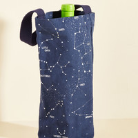 Cassiopeia of This, Drink of That Wine Tote | Mod Retro Vintage Kitchen | ModCloth.com