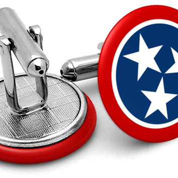 State Flag Tennessee Cufflinks