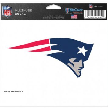 New England Patriots 5X6 Multi-Use Decal By Wincraft