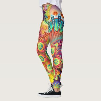 colorful absrtact leggings