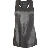 All Saints Bleeding Ramskull Vest