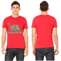 california republic camouflage T-shirt