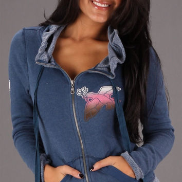 Gypsy 05 Love Hoodie in Blue