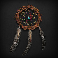 Twig Tri Color Dream Catcher