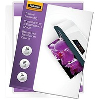 Fellowes Laminating Pouches - Letter Size, 3 mil, 25 pack | Staples