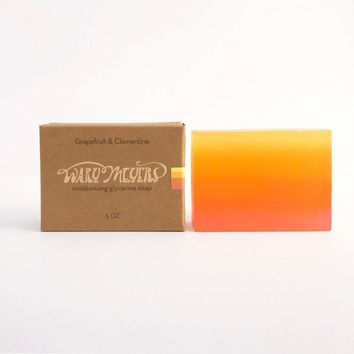 Grapefruit + Clementine Handcrafted Soap