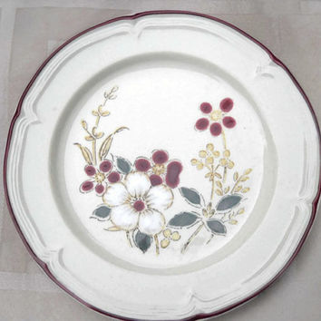 International Honey Fields Country Spice Stoneware - Salad Plate