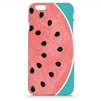 Watermelon Iphone 6 plus Case, Iphone 6 Plus Hard Cover Case (For Apple Iphone 6+ 5.5 Inch Screen) - Emerishop (NAH17.6PLUS)