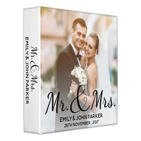 Mr. & Mrs. | Happily Ever After | Photo Binder
