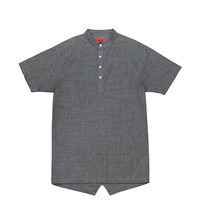 Hensworth Fishtail Top - Charcoal (sold out)