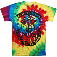 A Day To Remember Men's  Snake Pit Tie Dye Tie Dye T-shirt Multi