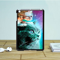 Cat & Kitten Stellar Nebula IPad Mini 1 2 Case Auroid