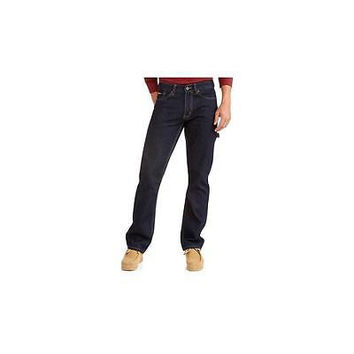 Rugged Supply Men's Carpenter Jeans, 36 X 30, Dark Blue