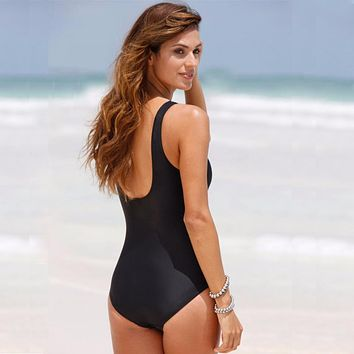 One Piece Swimsuit Women Swimwear Padded Beach Bathing Suits
