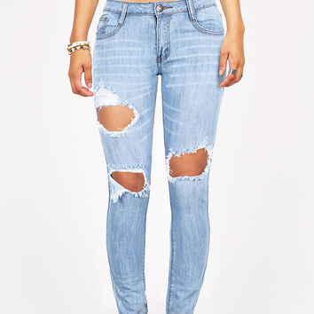 Hazardous Low-Rise Skinny Jeans