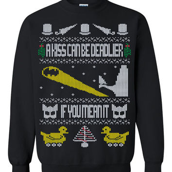 Batman Ugly Christmas Sweater sweatshirt Unisex Adults
