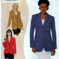 Simplicity 9668 Sewing Craft Pattern Misses Jacket