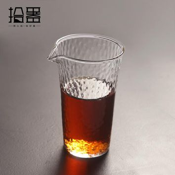 230ml Japanese Handmade Heat Resistant Glass Kung Fu Tea Drink Coffee Tea Set Insulated Clear Tea Pot Kettle Travel Portable Cup