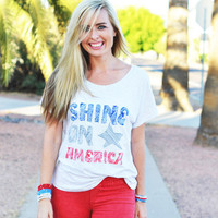 Shine On America Tee from The Shine Project