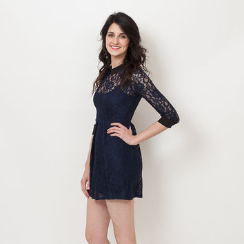 BCBGeneration - Lace Collared Dress