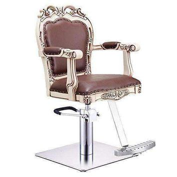 BEAUTY SALON STYLING CHAIR VICTORIAN STYLED ANTIQUE SALON CHAIR - GEORGIA-BR