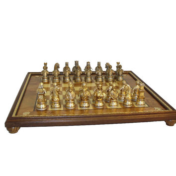 Camelot Pewter Chess Set