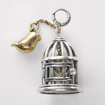 FOSSIL Jewelry Charms :Womens Bird Cage Charm JA3706