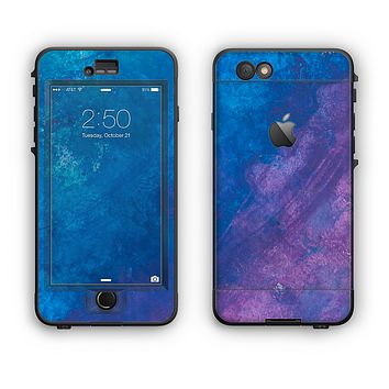 The Blue & Purple Pastel Apple iPhone 6 LifeProof Nuud Case Skin Set