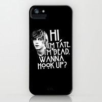 American Horror Story: Tate iPhone & iPod Case by dan ron eli