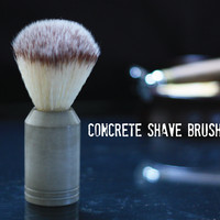 Concrete Shave Brush