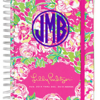 """PREORDER: Lilly Pulitzer Large Agenda """"Lilly Lovers"""" 2014/2014"""