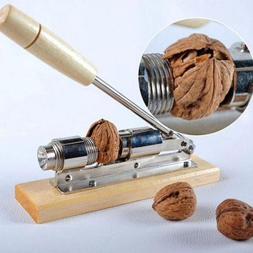CREYU3C High quality mechanical sheller walnut nutcracker nut cracker fast Opener Kitchen Tools fruits and vegetables