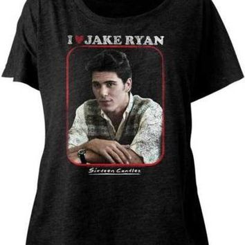 Sixteen Candles Jake Heart Juniors Dolman